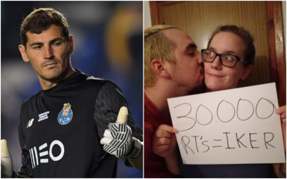 Vuole chiamare il figlio Iker, Casillas lo aiuta