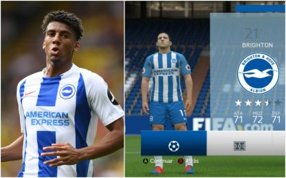 """Bernardo ammette: """"Conosco Brighton grazie a Fifa"""""""
