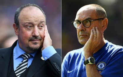"""""""Sarritez"""", il passato del Napoli gioca in Premier"""