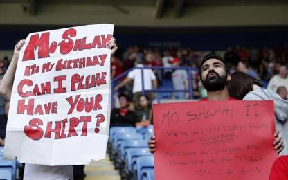 """Salah, due """"vicini"""" gli chiedono la maglia"""