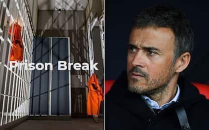 """Luis Enrique allena la Spagna in una """"Escape room"""""""