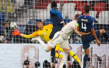 Areola salva la Francia, con la Germania è 0-0