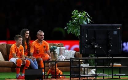 Olanda, l'ultima partita di Sneijder