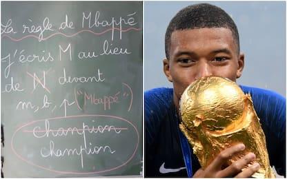"""Francia, a scuola si studia la """"regola di Mbappé"""""""