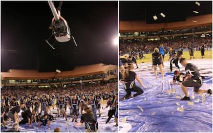 Soldi dal cielo, la follia dei Las Vegas FC: VIDEO