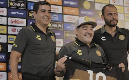 """Maradona in Messico: """"Darò il cuore, sono rinato"""""""
