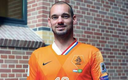 15 sfumature di oranje, l'Olanda omaggia Sneijder