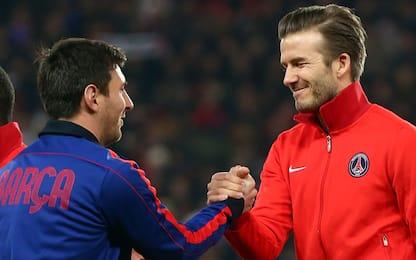 Sogno americano, Beckham chiama Messi a Miami