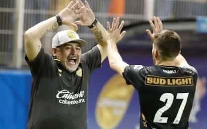 Maradona, esordio vincente con i Dorados