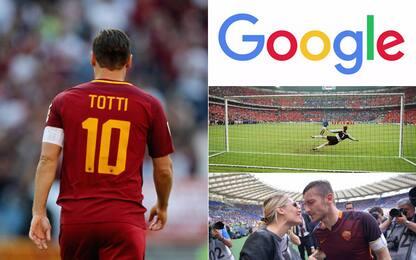"""""""Googlando Totti"""": 20 anni di domande e risposte"""