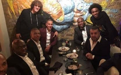 Mbappé, al ristorante con il... Chelsea