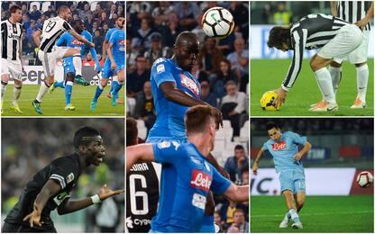 La top 5 dei gol più belli di Juve-Napoli: VIDEO