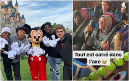 Pogba & co, giornata di relax a Disneyland Paris