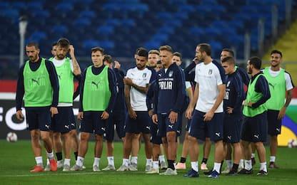 Polonia-Italia: l'11 scelto da Mancini