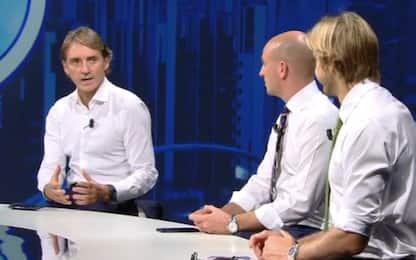 """Mancini: """"Italia? Serve un attaccante come Icardi"""""""