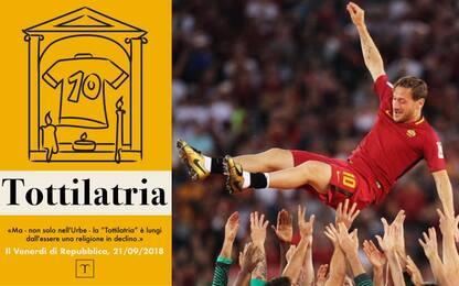 """Totti nella Treccani: nasce """"Tottilatria"""""""