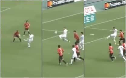 Iniesta-Podolski, gol capolavoro in Giappone VIDEO