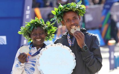 Maratona New York: vincono Desisa e la Keitany
