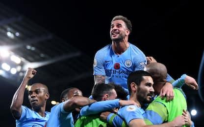 Guardiola domina il derby: City-United 3-1