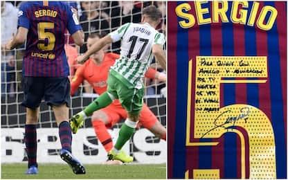 """Busquets, omaggio a Setién: """"Ammiro il tuo calcio"""""""