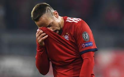 Ribery perde la testa, schiaffi a un giornalista