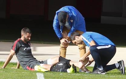 Siviglia, Gonalons ancora ko: frattura al malleolo