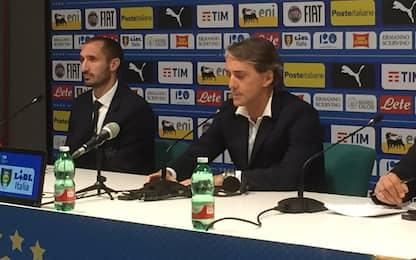 """Mancini: """"In attacco può giocare Immobile"""""""