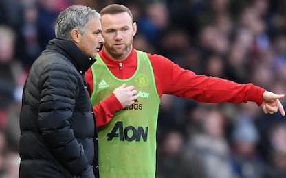 """Rooney attacca Mou: """"Con lui momenti imbarazzanti"""""""
