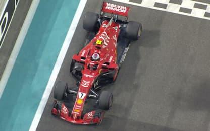 L'ultima di Kimi in Ferrari: applausi & ritiro
