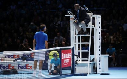 Federer furioso per colpa del ball boy. VIDEO