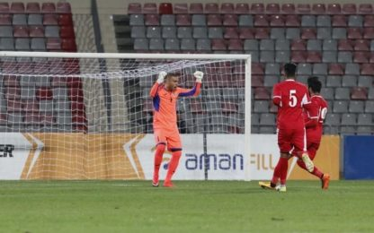 Giordania, segna il portiere: gol...su rinvio!