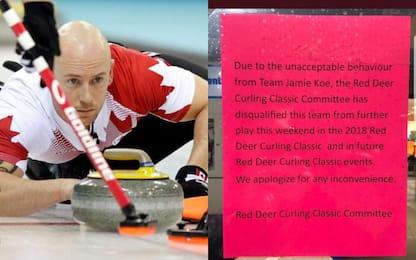 Curling, ubriachi in 4: squadra espulsa da torneo