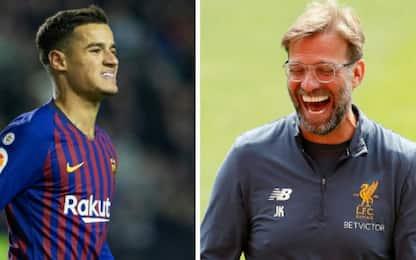 Liverpool, clausola Barcellona per Coutinho