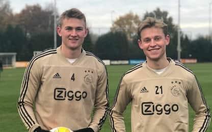 "Ajax: ""De Ligt-De Jong? Sconto del 20%"""