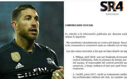 """Sergio Ramos: """"Doping? Mai fallito un controllo"""""""