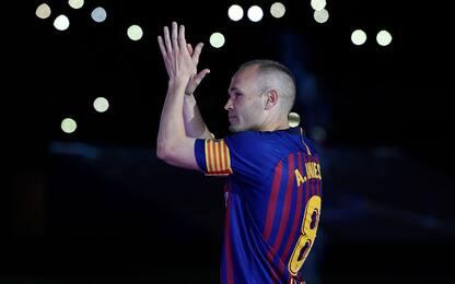 "Iniesta: ""Al Barça ho sofferto di depressione"""
