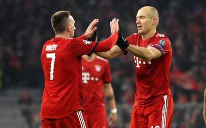 Bayern, Ribery e Robben via a fine stagione