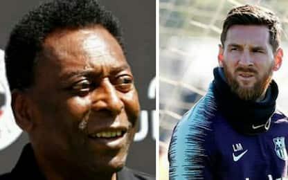 """Pelè: """"Maradona? Molto meglio di Messi"""""""