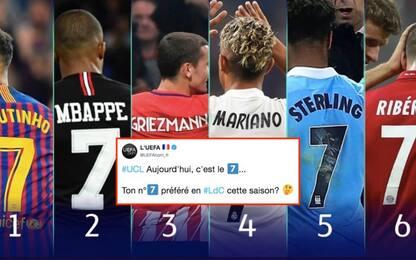 """Gaffe Uefa, tra i migliori """"7"""" manca… Ronaldo!"""