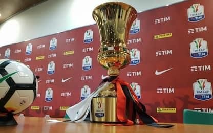 Coppa Italia, calendario e orari degli ottavi