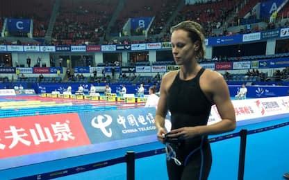 Mondiali nuoto: Pellegrini quarta nei 200 stile