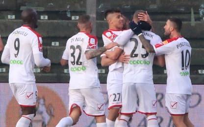 Il Carpi vince ancora, pari tra Livorno e Verona