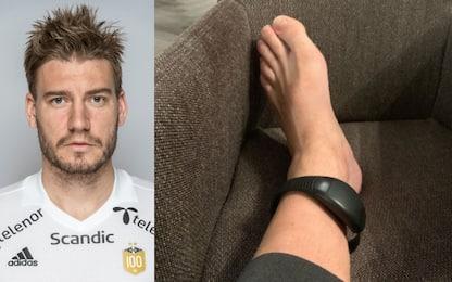 Bendtner, ai domiciliari e cavigliera elettronica