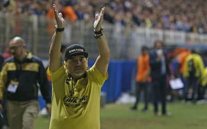 """Sollievo Maradona: """"Sto bene, ringrazio tutti"""""""