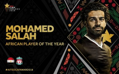 Salah raddoppia, è il giocatore africano dell'anno