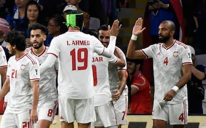 Coppa d'Asia, gli Emirati di Zac vanno agli ottavi