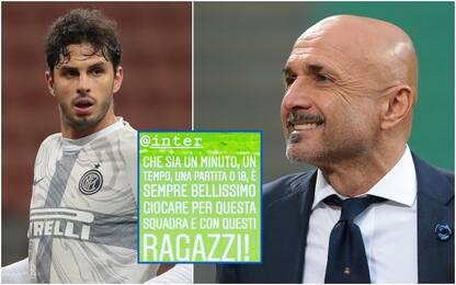 Ranocchia cuore Inter, e Spalletti lo cita