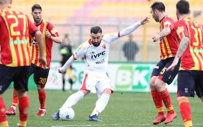 Lecce rimontato dal Benevento, vince il Foggia