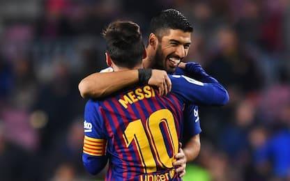 Entra Messi, il Barça batte 3-1 il Leganes