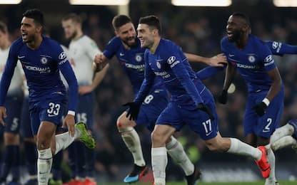 Sarri in finale di Coppa, Tottenham ko ai rigori